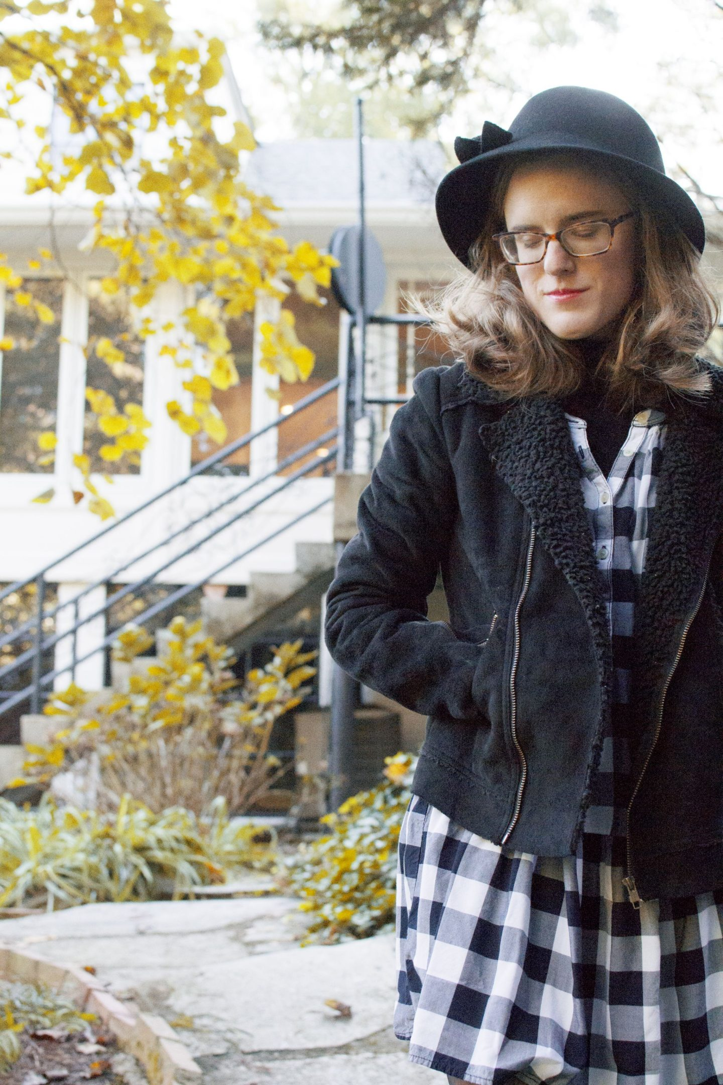 Styling Gingham for Fall
