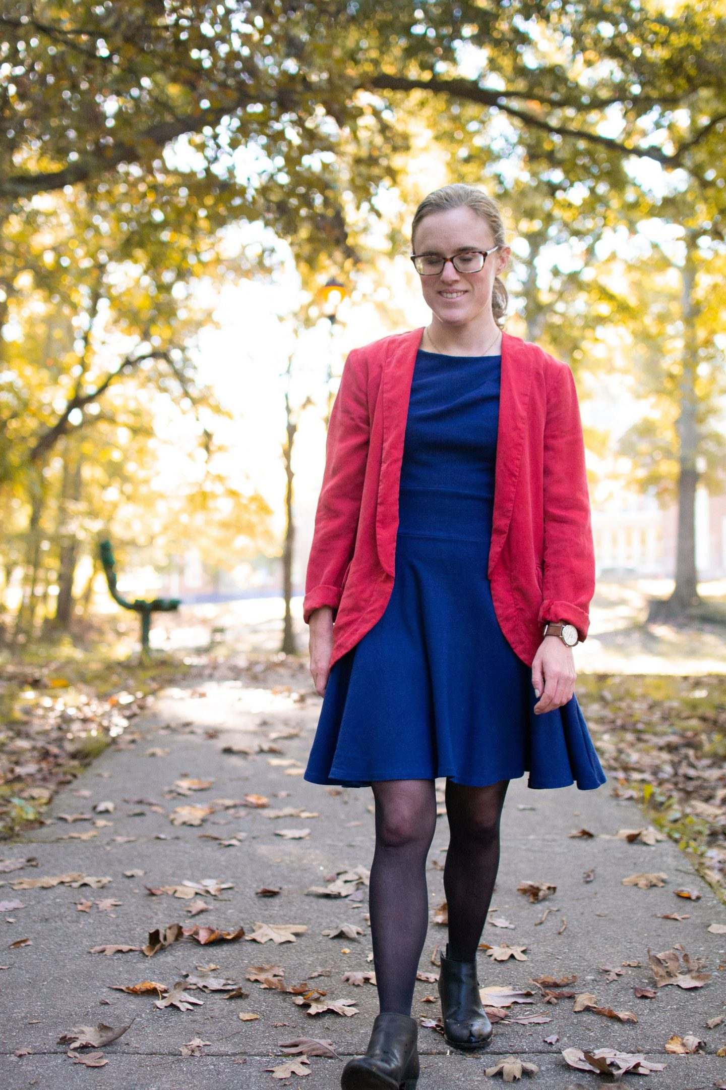 How to Rock Colorful Workwear